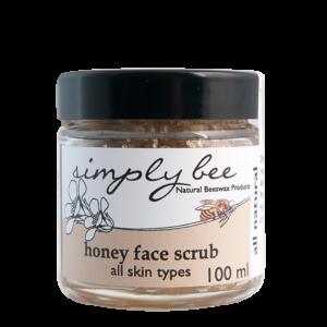 Simply Bee Honey Face Scrub