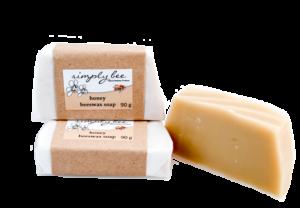 Simply Bee Honey Beeswax Soap