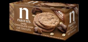 Nairns Dark Chocolate Chip Oat Biscuits