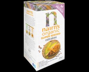 Nairns Organic Super Seeded Crackers