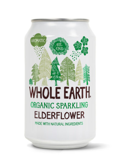 Whole Earth Elderflower Organic Drink