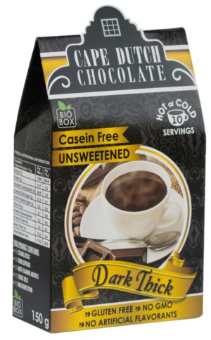 Cape Dutch Sugar Free Dark Thick Hot Chocolate