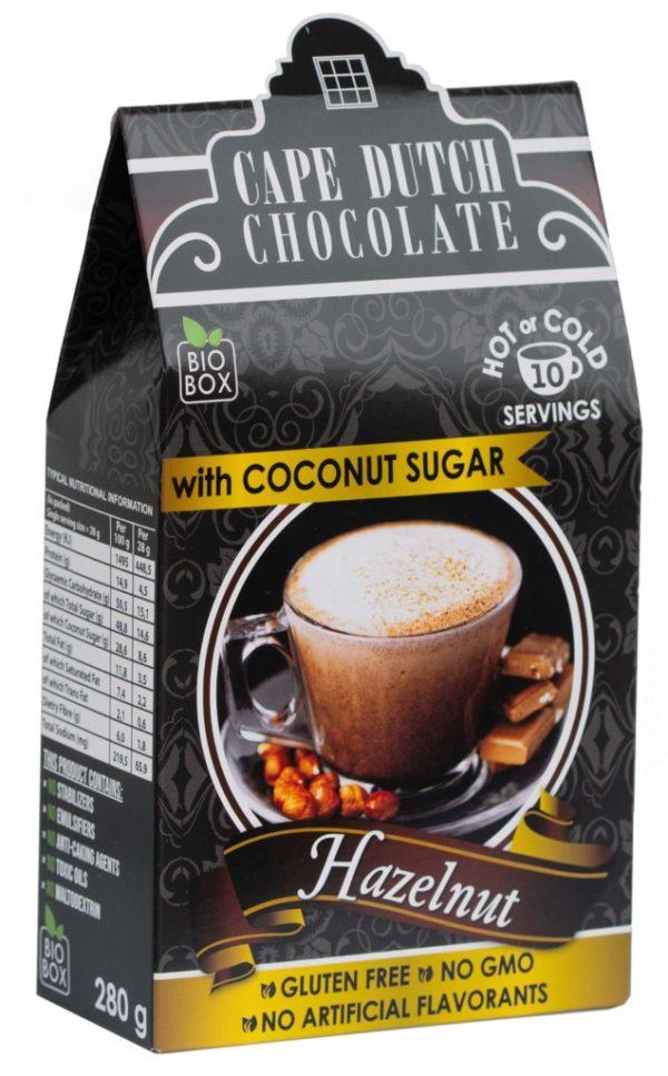 Cape Dutch Hazelnut Hot Chocolate 250g