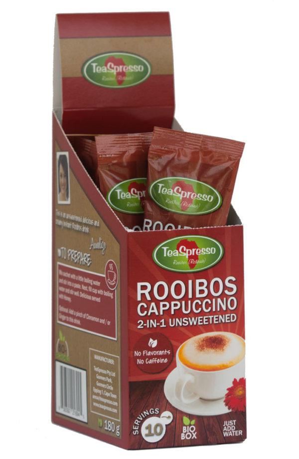Teaspresso Rooibos Cappuccino Sachet