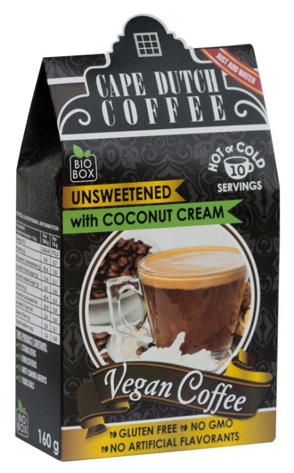 Cape Dutch Vegan Coffee 2-in1 Unsweetened